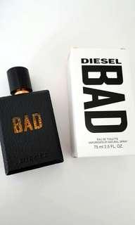 Diesel Bad Edt 75ml (Tester)