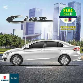 20k DP for Suzuki Ciaz Hurry Before Promo ends For more inquiries Call or Text 0995-821-8543 / 0919-202-4955