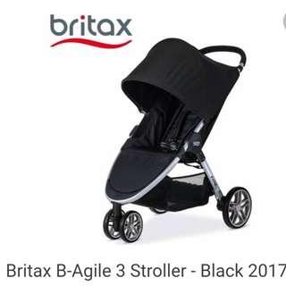 B agile 3 stroller