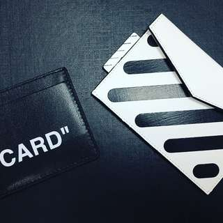 Off-White Diag Small Wallet Stripe Envelope Wallet