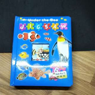 Jigzaw puzzle book
