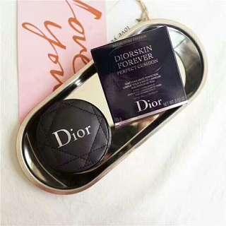 🚚 Dior迪奧限定小羊皮超完美氣墊粉餅 公司貨 象牙白 自然色 柔焦 15g 超持久 不泛油光 遮瑕