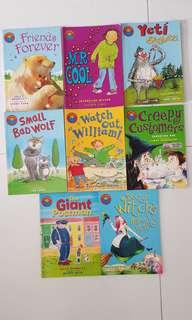 I am reading 8 Reader Books