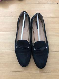 Longchamp suede loafers