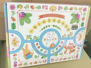 🚚 【預購】 小兔子的奇怪森林迷宮(書盒+迷宮摺頁地圖、卡片、手冊、野餐墊)