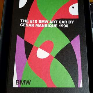 BMW Art Car Collection Notebook