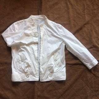 Silk White Jacket