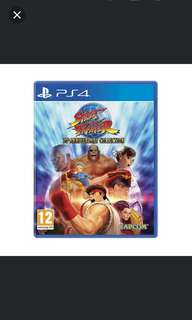 PS4 Street Fighter 30th Anniversary