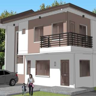 House and Lot in North Olympus Subdivision, Zabarte Road Caloocan City