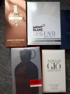 Fathers Day Perfume Sale SEE PRICES IN THE DESCRIPTION