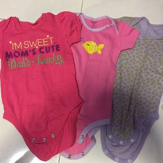 Baby Girls Rompers 9-12m