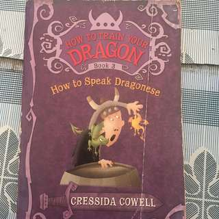 How To Train Your Dragon ( How To Speak Dragonese) by Cressida Cowell