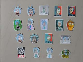 🚚 Rick & Morty stickers