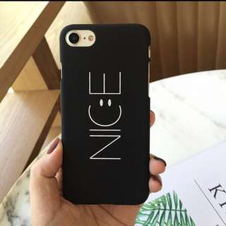 'NICE' CASE FOR IPHONE (iphone 7 case)