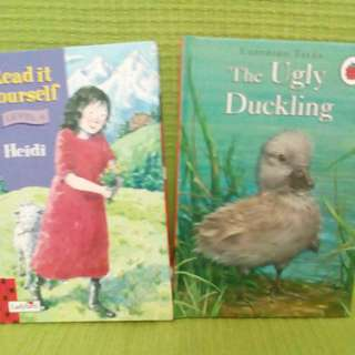 Ladybird Books Heidi and The Ugly Duckling
