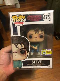 Funko pop stranger things Steve sdcc