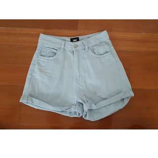 LEE Denim Stevie Short Blue Size 8