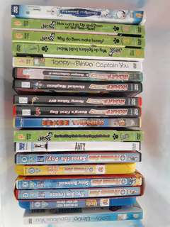 BN DVDs collection and more from UK