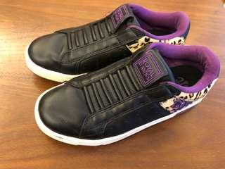 🚚 ROYAL ELASTICS 黑色豹紋 女鞋