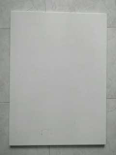 Magnetic Whiteboard 80 x 58 cm - wall mountable. (IKEA)