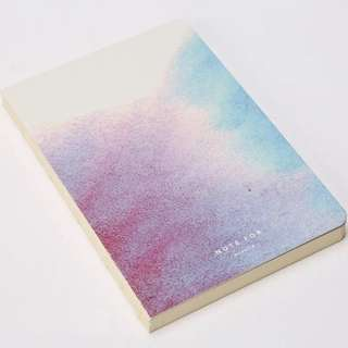 Beautiful Watercolour Blank Notebook