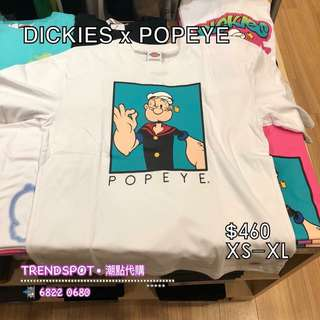 🆕 DICKIES x POPEYE (多色) ➖➖➖➖➖➖➖➖➖➖➖➖➖➖➖ 👇查詢或訂購可直接click 以下link👇 https://api.whatsapp.com/send?phone=85268220680  ➖➖➖➖➖➖➖➖➖➖➖➖➖➖➖ ✅ 歡迎使用 HSBC PAYME ‼️ ➖➖➖➖➖➖➖➖➖➖➖➖➖➖➖ 📲WhatsApp 68220680/ FB inbox https://www.facebook.com/trendspotonline/ Ig: trendspot buyer