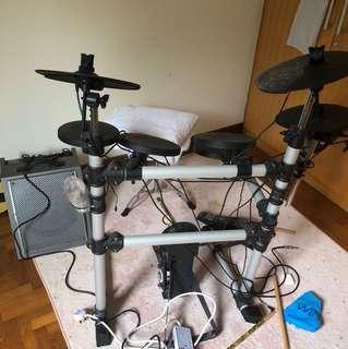 Drum 🥁 E Medeli ; 25 pattern drum sets