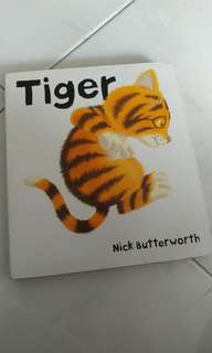 Tiger. Toddler book