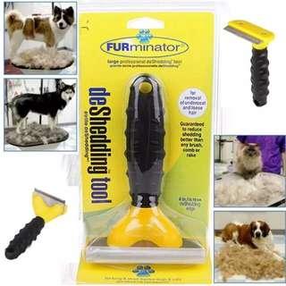 Furminator deshedding brush tool for dog/cat