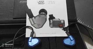 Kz zs5可換線專業耳机