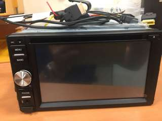 Nissan DVD LCD set with bluetooth