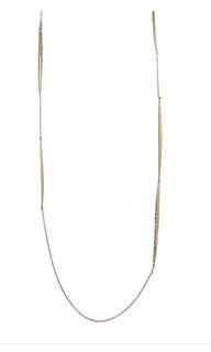 Alexis Bittar Gold Swarovski Crystal Encrusted Necklace