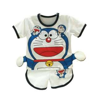 Sale On June~Preloved Stelan Baju Baby Doraemon