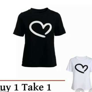Heart Shirt Buy1Take1