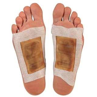 Penyerap Racun Kiyome Kinoki Cleansing Detox Foot Pads Gold Ginger