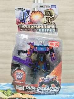 Transformers Takara UN25 Tank Megatron