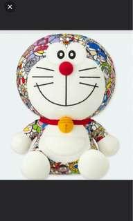 Uniqlo Doraemon takashi murakami plush toy