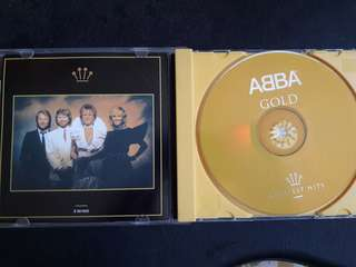 ABBA greatest hits CD