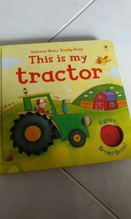 Noisy Tractor touch and feel