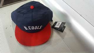 Barney Cools snapback - navy/red