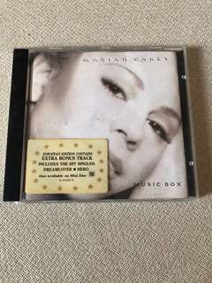 Cd box C8 - Mariah Carey