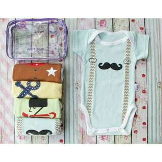 Sale On June~Preloved Baby Suite 4pcs