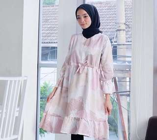 Tunic abstrack / atasan muslim
