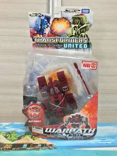 Transformers Takara UN24 Warpath
