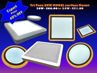 New Model TriTone LED Surface Mount