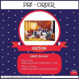 (PRE-ORDER) VICTON - GRIEF IN MAY