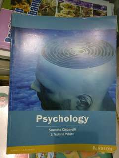 Psychology by Ciccarelli & White