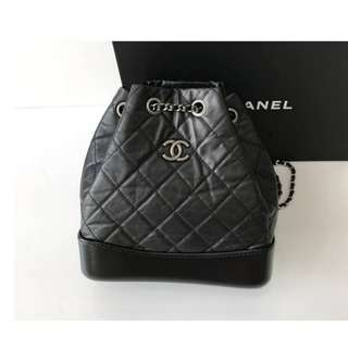 Authentic Chanel Black Gabriel Small Bag