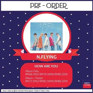 (PRE-ORDER) N.FLYING - HOW ARE YOU