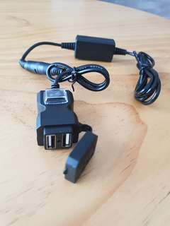Dual USB Phone Charger for E-Scooter/Motorbike